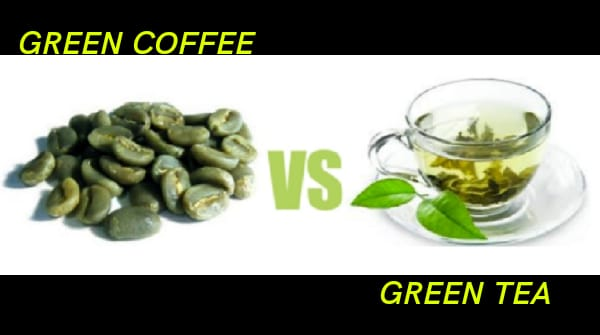 green tea for weight loss, green coffee for weight loss, green coffee vs green tea